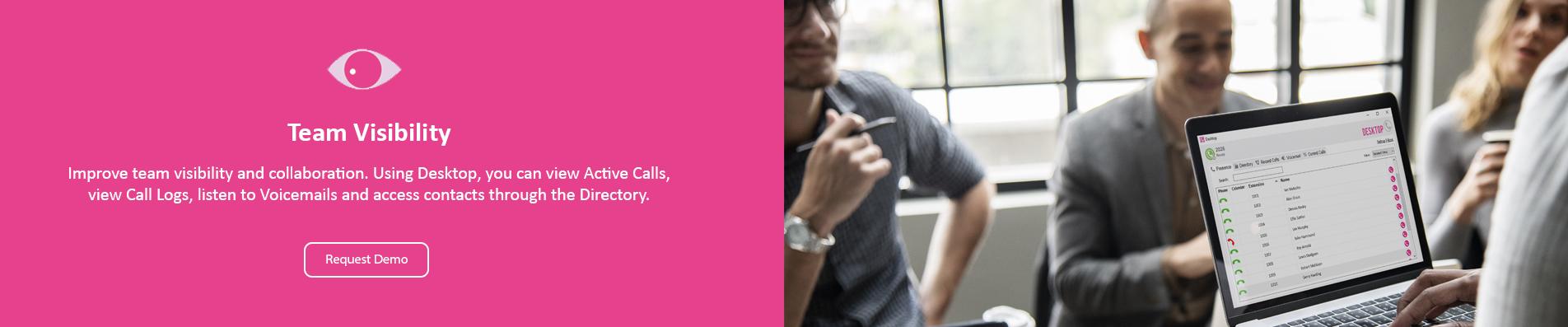 Team Visability Hello Telecom Contrex Desktop