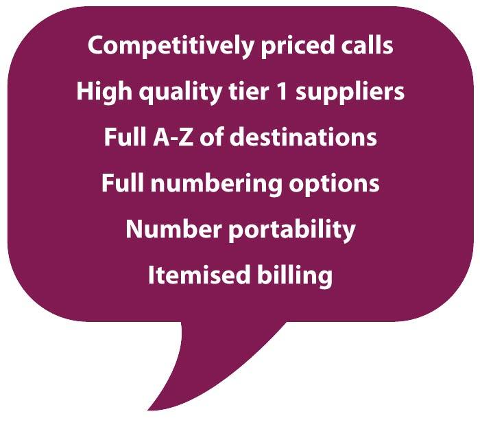 Call benefits Hello Telecom