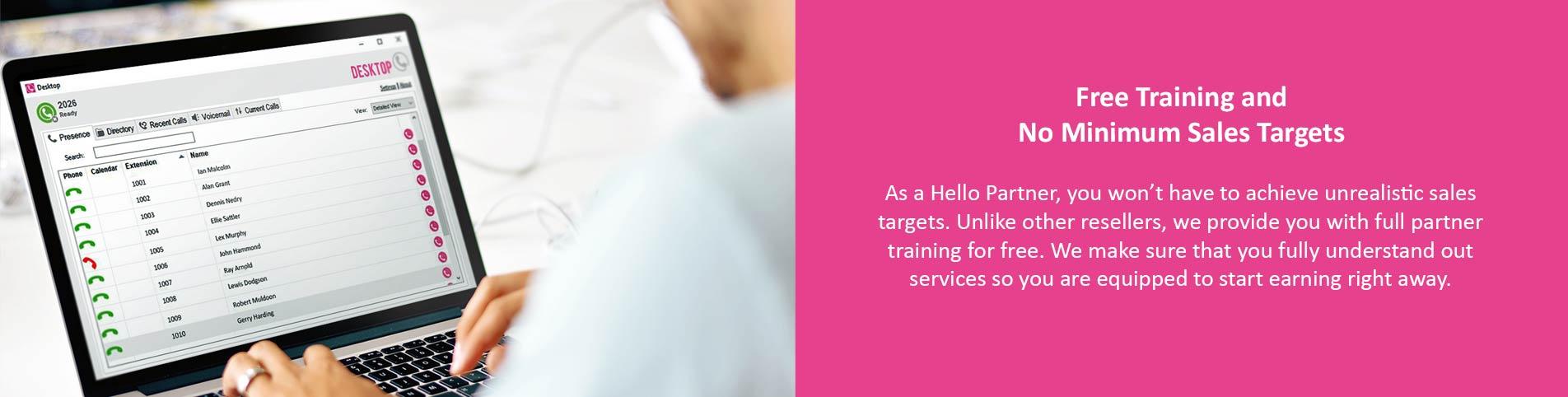 Hello Telecom free Partner training