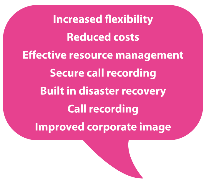 Hosted Contact Centre Benefits