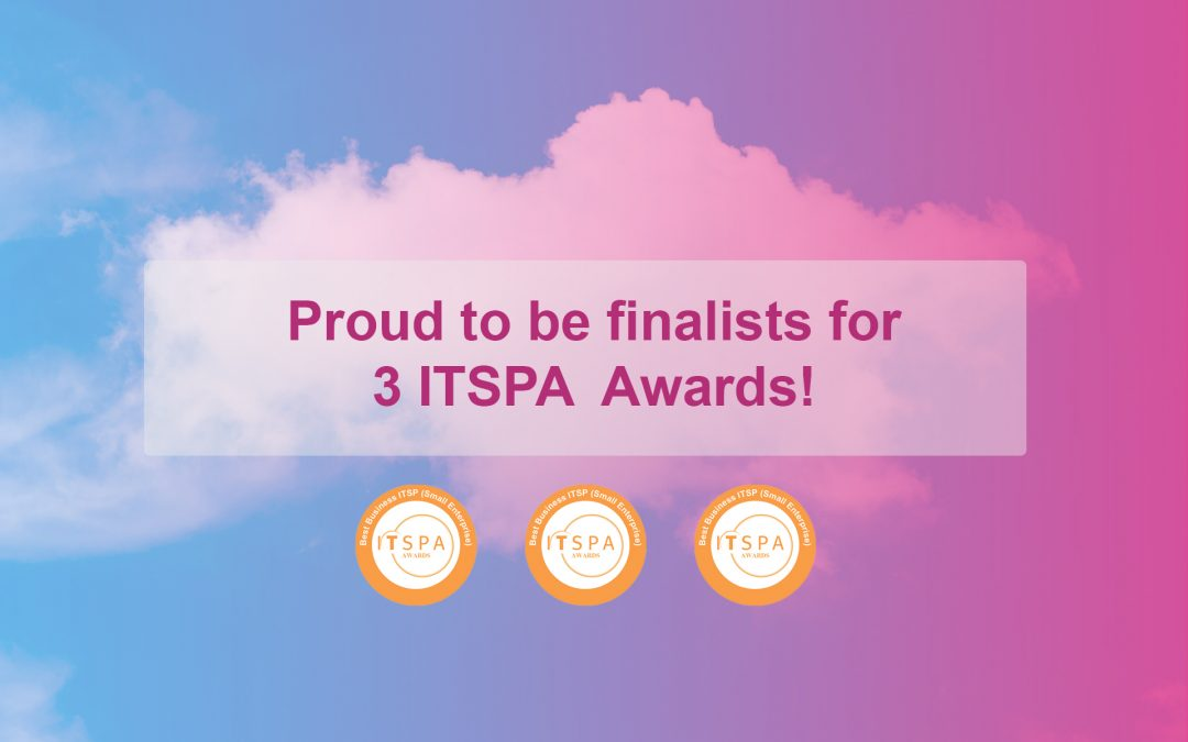 ITSPA finalists for three Awards!