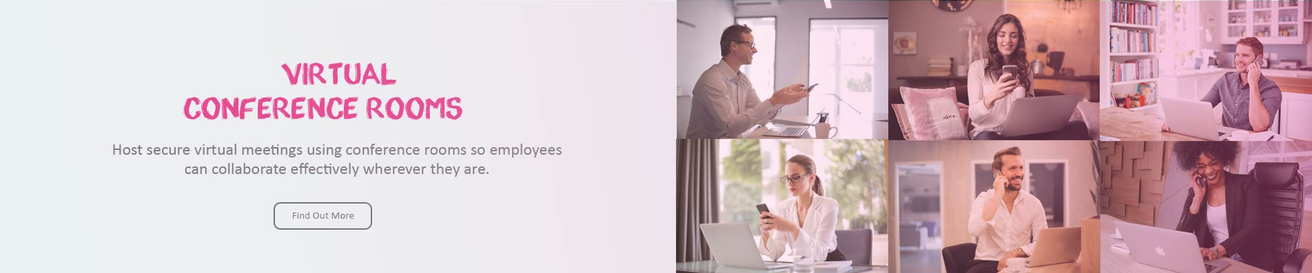 Remote Working VoIP Call Conference