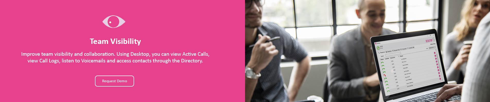 Team Visibility Hello Telecom Contrex Desktop
